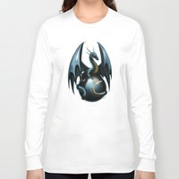 dragon ball Long Sleeve T-shirts featuring dragon by Antracit