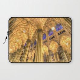 St Patrick's Cathedral Manhattan New York Laptop Sleeve