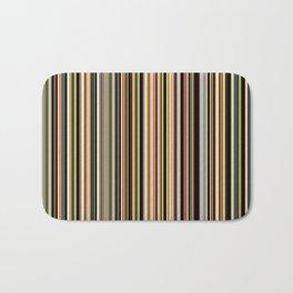 Old Skool Stripes - The Dark Side Bath Mat
