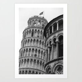 Leaning Tower of Pisa (2) Art Print