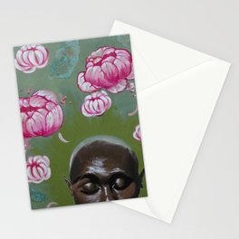 Here Comes a Thought Stationery Cards