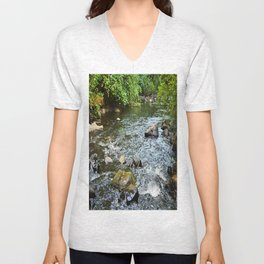 Clear Water Unisex V-Neck