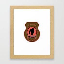 pawnee Framed Art Print
