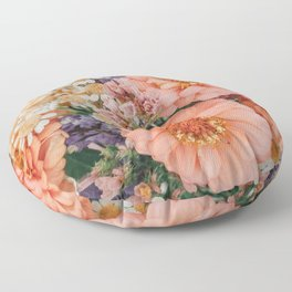 Light and Muse | Floral Bouquet no. 1 Floor Pillow