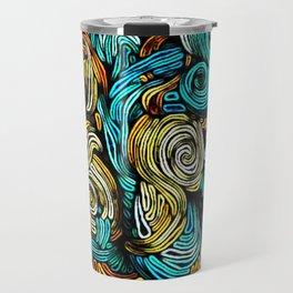 Static Waves Travel Mug