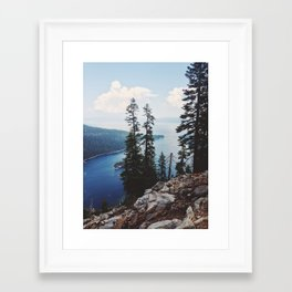 Emerald Bay Framed Art Print