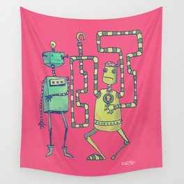 Robo Pirates! Wall Tapestry