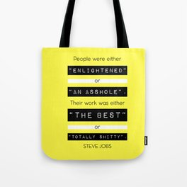 STEVE JOBS QUOTE Tote Bag