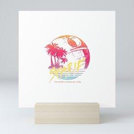 Sunny Scarif Mini Art Print