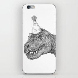 Party Dinosaur iPhone Skin