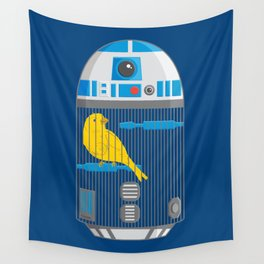 R2 Birdcage Wall Tapestry
