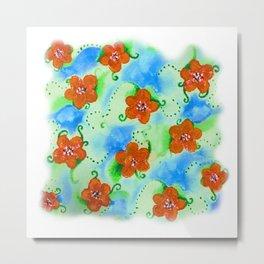Flowers_103 Metal Print