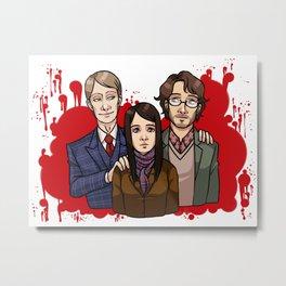 Murder Family Metal Print