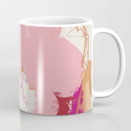 Flashes of peach and pink Coffee Mug
