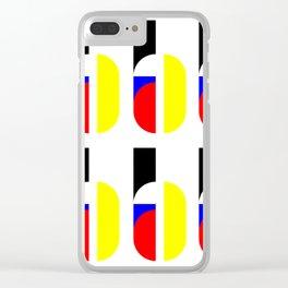 Bauhaus Type Joschmi Xants Clear iPhone Case