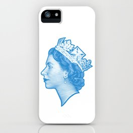 QUEEN ELIZABETH II iPhone Case