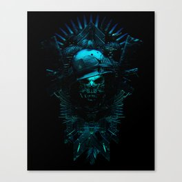 King of The Hill - 5 Canvas Print