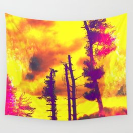 Sky's Afire Wall Tapestry
