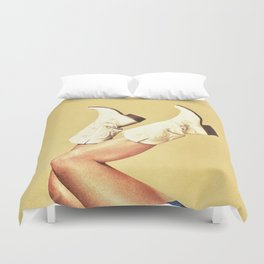 These Boots Duvet Cover