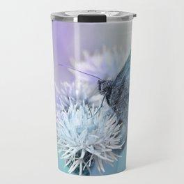 Butterfly blue 71 Travel Mug