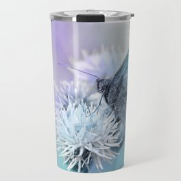 Butterfly blue 71 Travel Mug