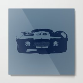 SHELBY DAYTONA 48 CHROMATIC BLUE Metal Print