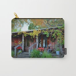 The Grapevine Texas Wine Bar Carry-All Pouch