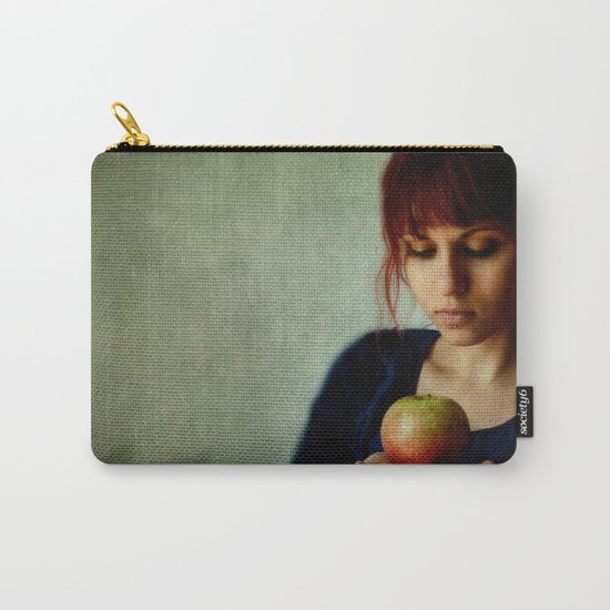 the girl with the apple Carry-All Pouch