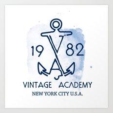 Vintage Academy Art Print