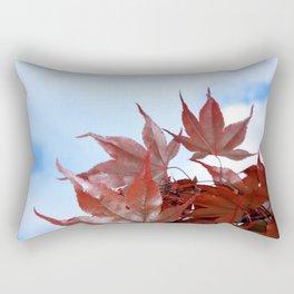 red leaf sky Rectangular Pillow
