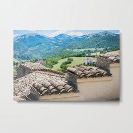 Umbrian landscapes Metal Print