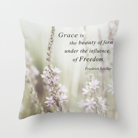 The Beauty of Form Throw Pillow