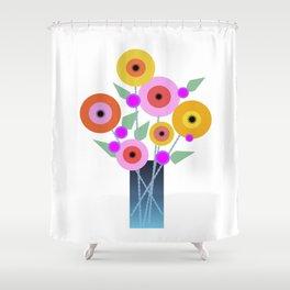 Floral Potpourri Shower Curtain
