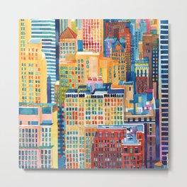 New York buildings Metal Print