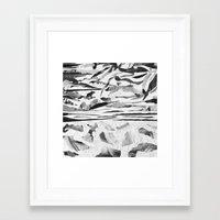 sand Framed Art Prints featuring Sand  by Jihan Mv