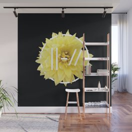 Trench Yellow Flower Wall Mural