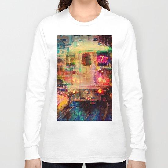 Le train  Long Sleeve T-shirt