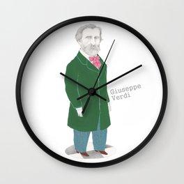 Giuseppe Verdi Wall Clock