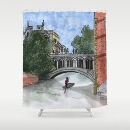 The Bridge of Sighs Shower Curtain