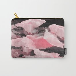 Light Pink Snapdragons Abstract Flowers Carry-All Pouch