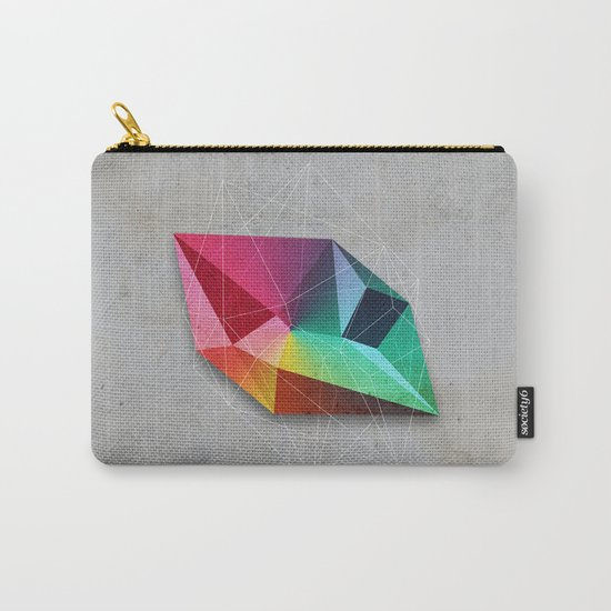 Mineral Geometry #1 Carry-All Pouch