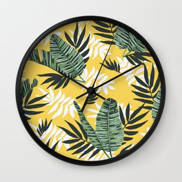 Hot tropical summer Wall Clock