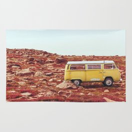 yellow Camper Rug