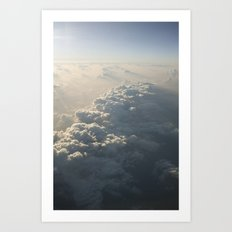 Above The Clouds No.2 Art Print