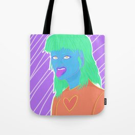 Mullet Girl Tote Bag