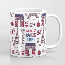 Paris Icons Coffee Mug