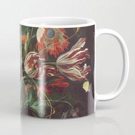 Jan Davidsz De Heem - Vase Of Flowers Coffee Mug