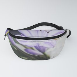 Lilac flower Fanny Pack