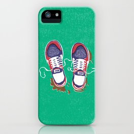 Nike trainers iPhone Case