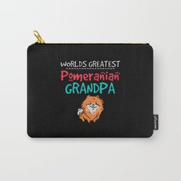 Worlds greatest pomeranian grandpa Carry-All Pouch